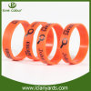 Printing Color Silicon RFID Bracelet with Silk Screen Logo