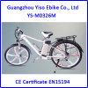 26inch Li-ion Battery Mountain E Bike with Magnesium Wheels