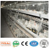 Galvanized Chicken Breeding Farm Battery Layer Broiler Cage with Automatic Feeding