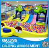 Hot Sale Slides of Kids Playground Equipemnt (QL-150416J)