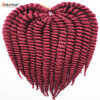 100% Kanekalon Jumbo Braid Synthetic Hair Extension Havana Mambo Twist Crochet Hair Braid Lbh 113