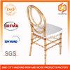 Crystal Amber Wedding Rental Plastic Crossback Phoenix Chair