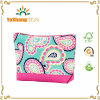 Colorful Travel Necessarie Canvas Polyester Cosmetic Bags Wholesale