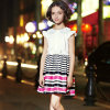 Short Sleeve Middle School Uniform Dress for Girls