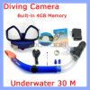 720p Diving Scuba Diving Camera with 4GB Memory ,Under Water Diving Camera (Camera-312)