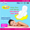 245mm Ultra Thin Ladies Sanitary Towel with Wings for Day Use