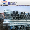 Bs1387 En10255 ASTM A53b Galvanized Steel Pipe / Gi Pipes Threaded with Socket / Grooved