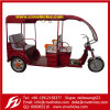 Yudi Electric Tuk Tuk Three Wheelers Motorcycles Battery Rickshaw for Passengers