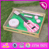 2015 Educational Toy Music Set Toy, Kids Wooden Set Toy Instrument Music, Included Guitar, Flute, Drum, Harmonic, Castanet W07A035