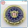 Gold Plating 2 Inch Custom Challenge Coin