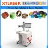 Fiber Laser Marking Machine with Rotary for Pigeon Bird Leg Rings Fiber Laser Marking