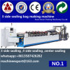 V Cut and Banana Punching Is Matched 3 Side Sealing Bag Making Machine
