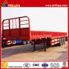 Gooseneck Type 3 Axles Side Wall Semi Trailer