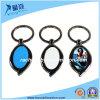 Special Oval Shape Blank Metal Keyring