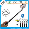 Little Aluminum Bluetooth Selfie Stick Remote Shutter with Smartphone