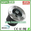 9W RGB LED Inground Light / LED Floor Light / LED Underground Light (HP-GR-3*3W-B)