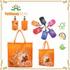 Reusable Eco Shopping Bag Folding Shoudler Bag in Pouch Clip Random