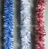 PVC Tinsel with Snowflake Material