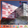 Multiple Color Decoration Building Aluminum Exterior Wall Panel