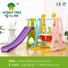 Outdoor Playground Kid Play Equipment Slide with Swing