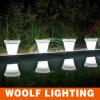 16 Colors Changed LED Flower Pot Rechargeable LED Pot Light, LED Light Pot