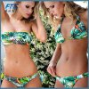 One-Piece High Quality Polyester Women Fashion Bikini Swimwear Swimsuit