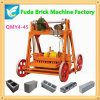 Qt40-3b Big Size Movable Egg Laying Block Making Machine