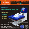 St-D3 Single Small Size Drawing out Stations Pneumatic Fabric Tshirt Heat Press Printer