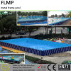 Customized Indoor Outdoor Above Ground Pool / Meatal Frame Pool
