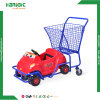 Plastic Kids Shopping Toy Cart Baby Stroller for Renting