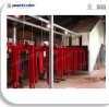 Bridge Type Oven Powder Coating Line for Better Heating Preservation