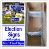 Coroplast Sign Stakes for Election