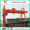 Warehouse Used Gantry Crane with Electric Trolley