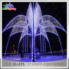 Outdoor Landscape Metal Holiday Giant LED Christmas Fountain Decoration Light