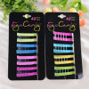 48 Pieces Card Packed Fashion Jewelry Hair Pin Ornament (JE1033)