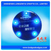Promotional LED Badge Embrodiery Metal Badge