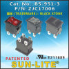 Rocker Switches (DPST) BS-951-3