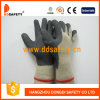 Ddsafety 2017 Hot Selling Cotton Gloves Coated Black Foam Latex