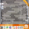 2016 New Marble and Cold Spray Glass Strip Mosaic (M855076)