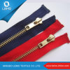 Best Price Golden Brass Zipper