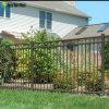 Wholesal Black Coted Security Steel Matting Fence Design