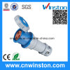 Wst-3390 125A 3pin High-End Type Industrial Connector with CE, RoHS Approval