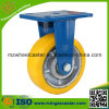 Fixed Caster Iron Core PU Castor Wheel