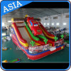 Outdoor Giant Inflatable Mobile Car Race Slide