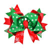 Decoration Bows Wholesale Christmas Hair Clip Girls