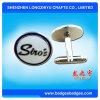 Elegant Design Cuff Links with Customer′s Logo Design Printing Cufflinks Set