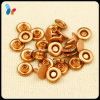 High Quality Plating Red Copper Color Metal Rivet