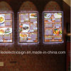 Wall Mounted LED Menu Signboard