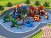 2016 Plastic Material and Outdoor Playground Type Kids Play Equipment Slides (HD16-011A)