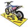 Eco-Friendly Motorsport Motorcycle Car Logo Mat